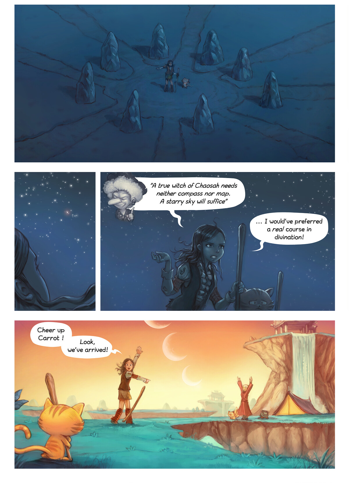 A webcomic page of Pepper&Carrot, episode 6 , page 6