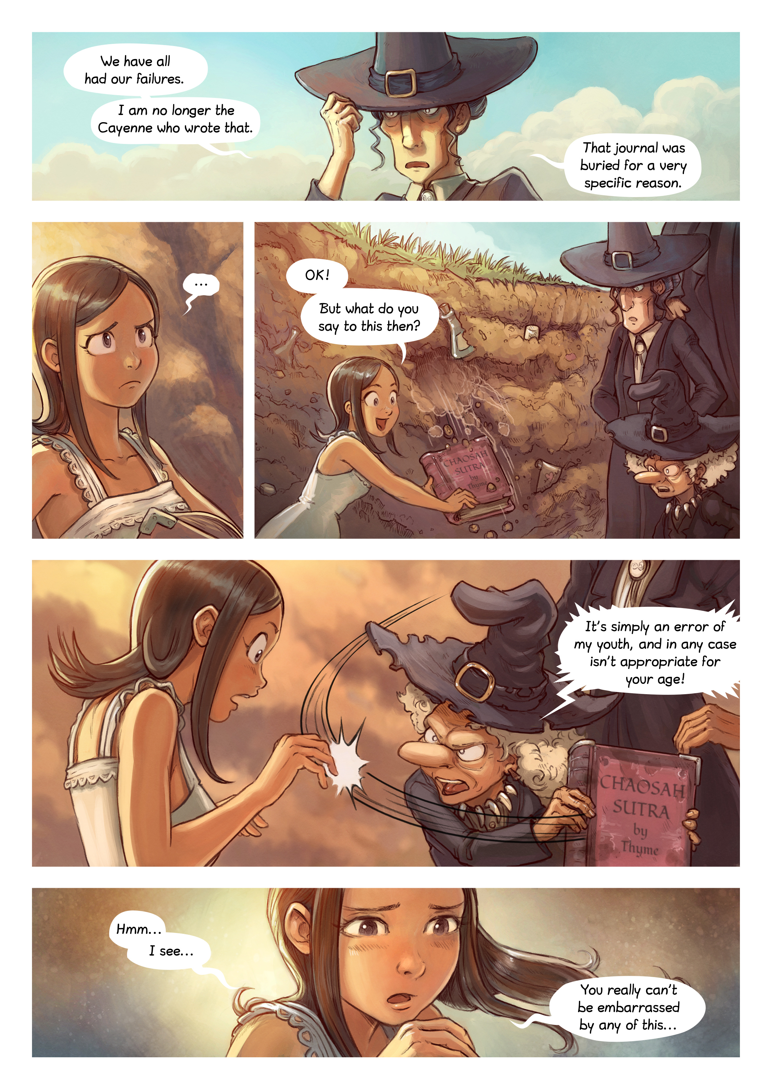 A webcomic page of Pepper&Carrot, episode 5 , page 5